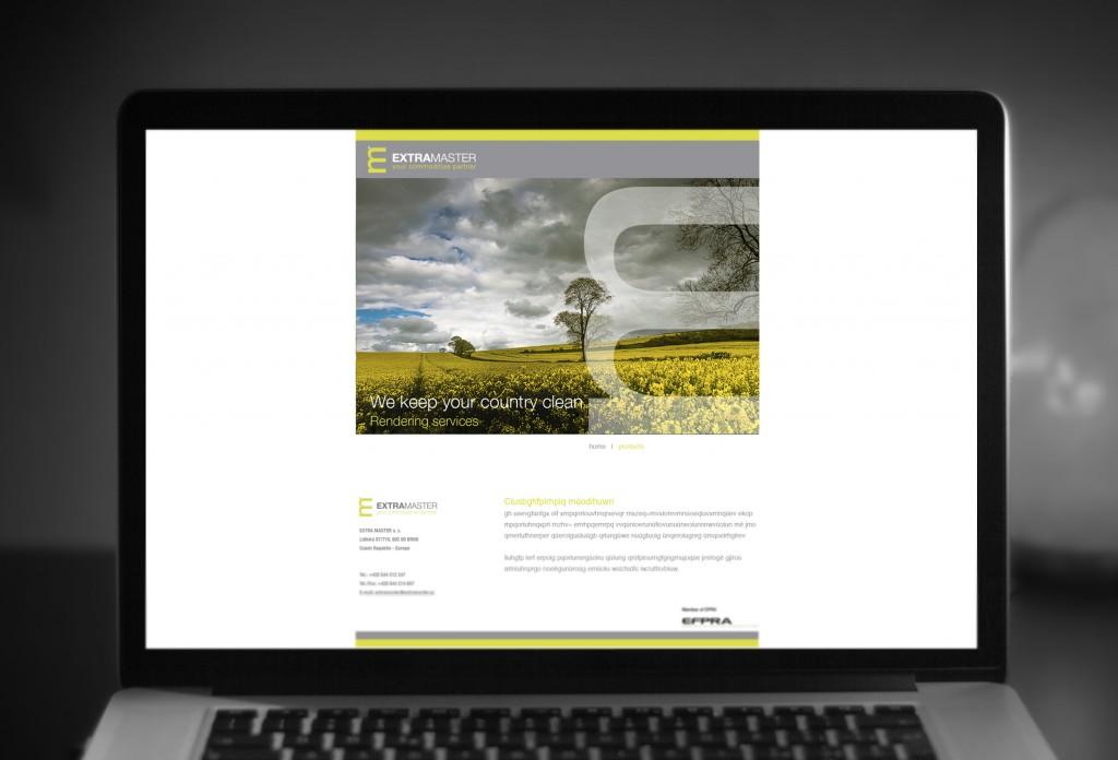 Extramaster webdesign