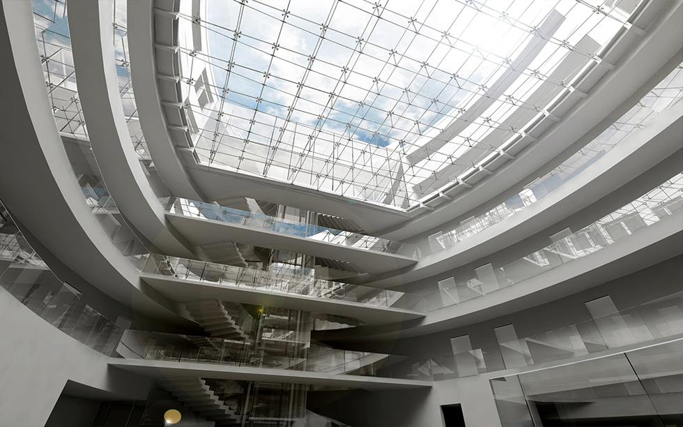Hotel-Atrium